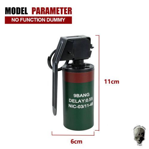 Details about  /TMC MK13 BTV-EL Flash Bang Stun Grenade Model Dummy Wargame Airsoft Hunting Camo