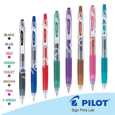 Gel Ink Pen 6 pack Pilot Pop/'lol BLUES Gel Ink Pen