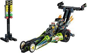 LEGO Technics 42103 DRAGSTER tirate indietro e andare 2 in 1 Auto da Corsa NUOVO CON SCATOLA SPEDIZIONE GRATUITA