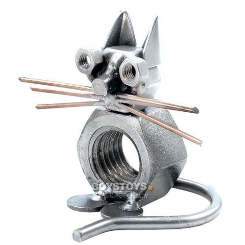 Metall-ART DEKO-Figur Katze Design I