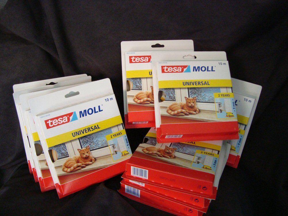 10 x tesa Moll Universal Nr. 05412 Schaumstoffdichtung 10mx9mm 1-5mm(1m =  )