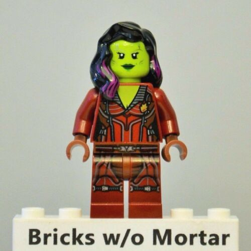 New Genuine LEGO Gamora Minifig Marvel Super Heroes 76021