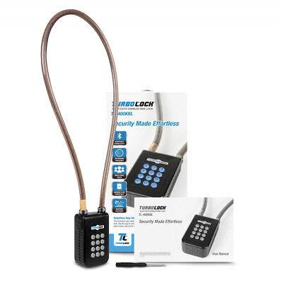 TURBOLOCK TL-400 Smart Bluetooth Keyless Bike Lock with Keypad and Sharable eKey