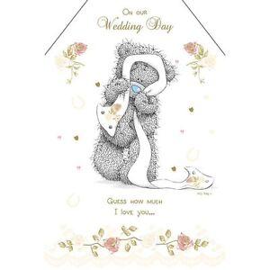 Me to you wedding card wedding day i love you greetings card image is loading me to you wedding card wedding day i m4hsunfo