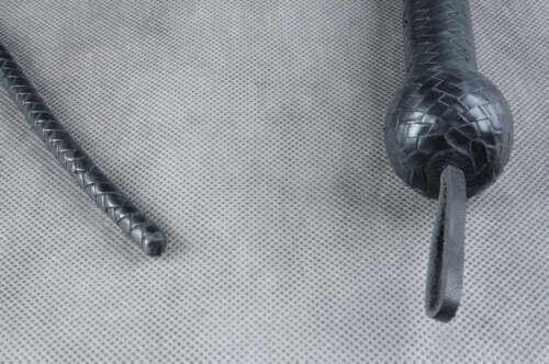 Genuine Leather Bull whip flogger nagayaka volchatka