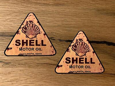 2x Fying A Vintage Öl Aufkleber Retro Service Hotrod Rat Oldtimer Oldschool #303