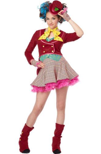 Mad as a Hatter Alice In Wonderland Tween Costume