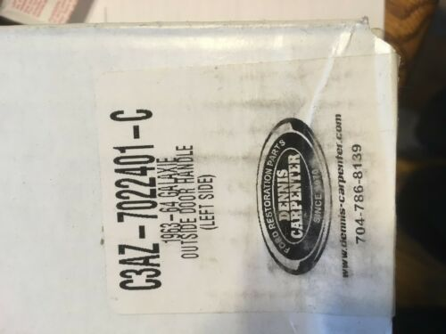 63 64 Ford Galaxie Outer Door Handle LEFT