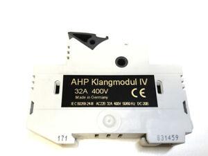 AHP Klangmodul IV 4 für Sicherung 10x38mm Fuse holder -ohne Sicherung