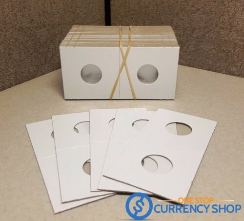 FREE SHIPPING! 12 Premium Cardboard 2x2 Dime Coin Case Holders Paper Flips