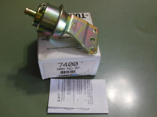 Tomco 7400 Carburetor Choke Pull Off For Some 81-87 GM 3.0L /& 3.8L W//Rochester
