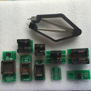 9 adapters+IC extractor for TL866A TL866CS TNM G540 VS4000 VS4800 programmer