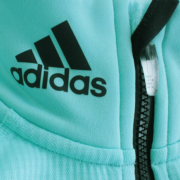 adidas Damen Outdoor Sportjacke Fleece Jacke Ski High Loft Fleece aqua noc pool