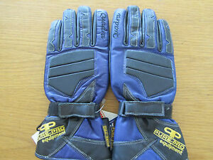 PURE-PRO-QUADRA-PURPLE-LEATHER-GLOVES-LARGE-HIPORA-BREATHABLE-WATERPROOF-COMFY