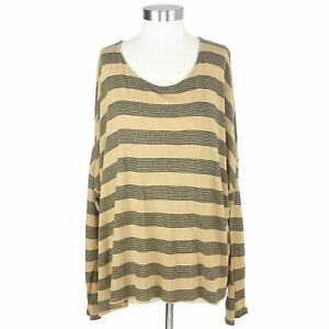 Old-Navy-XXL-Yellow-Striped-Shirt