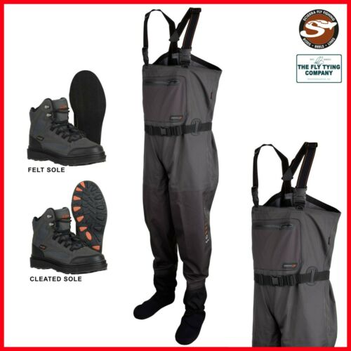 SCIERRA X-16000 Stocking Foot Chest Waders *COMBO DEAL*Waders /& Boots Offer