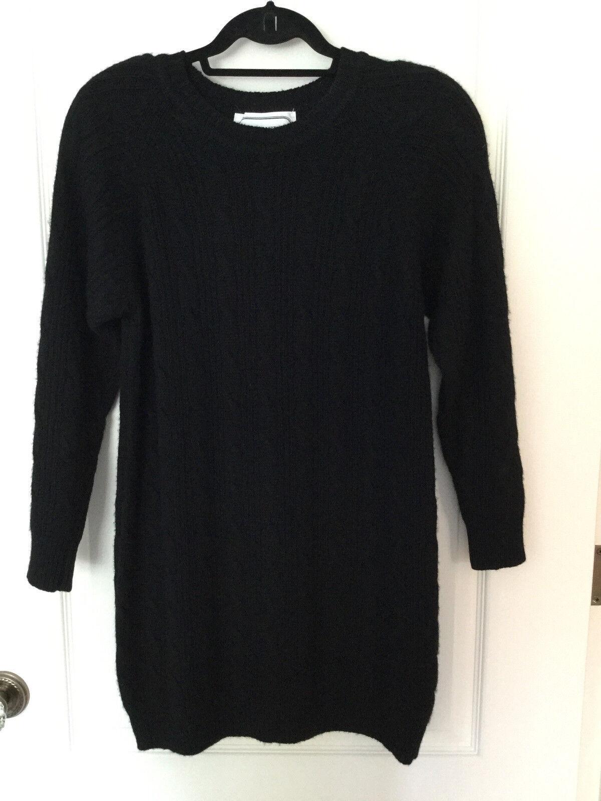 Adrienne Vittadini Cable Knit Cashmere Dress