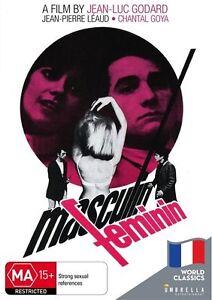 Masculin-Feminin-World-Classics-DVD-NEW-Region-4-Australia