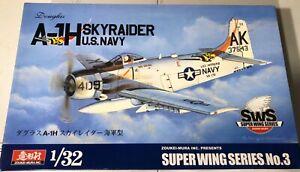 Zoukei-Mura-Douglas-A-1H-Skyraider-US-Navy-1-32-NIB-Model-Kit-Sullys-Hobbies