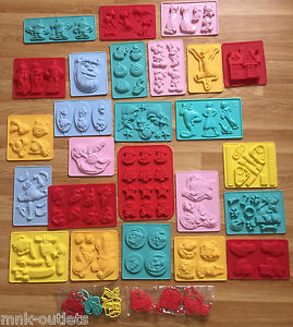 MOULDS: Disney Cake Sweets Stencil Silicone Decorating ...