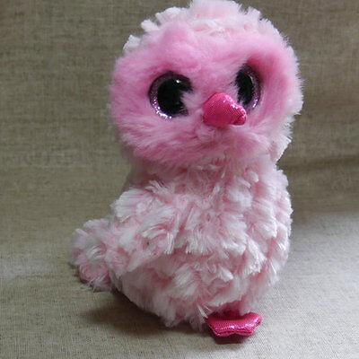 "TY BEANIES BOOS  owl Twiggy Stuffed doll 6/"" in hand"