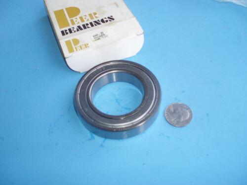 2 Pcs Peer Radial Ball Bearing 6009-ZZ
