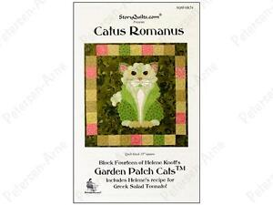 Story-Quilts-Patterns-Cactus-Romanus-Pattern-by-Helene-Knott-FREE-US-SHIPPING