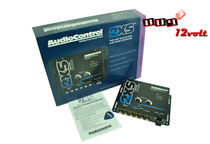 AudioControl-2XS-Black-Concert-Series-Two-Way-Crossover