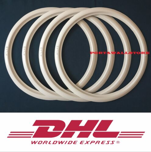 17 INCH SET MOTORBIKE LOW PROFILE NEW PORTAWALL PACKAGE OF4