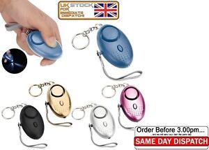 Self-Defense-140dB-Alarm-Keychain-LED-Light-Emergency-Safe-Sound-Anti-rape-Loud