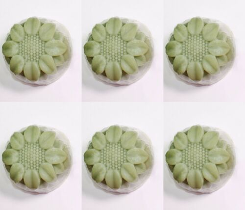 6 Cavidad Flor Molde De Silicona Jabón hecho a mano hágalo usted mismo Girasol Vendedor de Estados Unidos