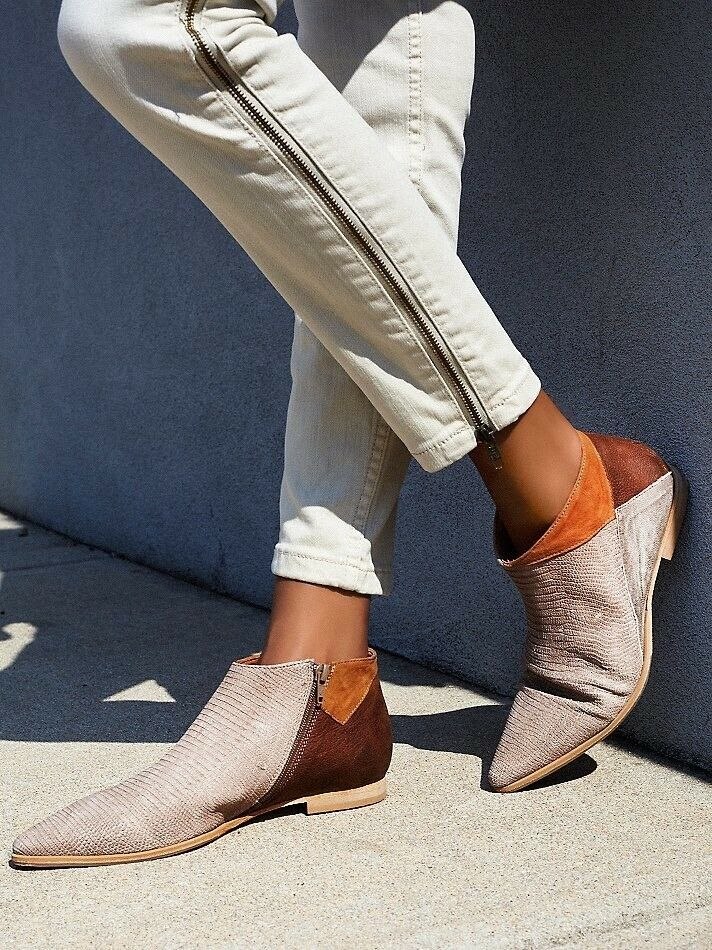 Free People Desert Rider Ankle Boot Size 8 NEW MSRP   198