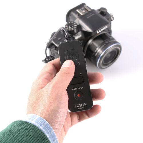FOTGA RM-VP1 Disparador Remoto Cable Para Panasonic GH4 GH5 DMW-RS1//DMW-RSL1