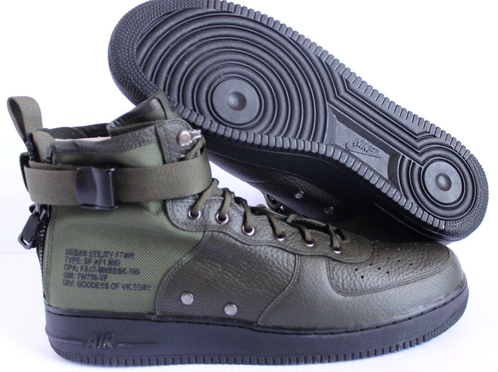 Nike SEQUOIA-Negro Para Hombre Botas Force AF1 mediados SF Air SEQUOIA-Negro Nike [917753-300] 123f9f