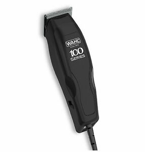 Cortapelos Wahl Home Pro 100 con Cable Negro Maquinilla - Kit 12 Piezas
