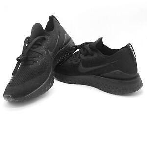 New-Nike-Epic-React-Flyknit-Multi-Sizes-Running-Shoes-Triple-Black-BQ8928-011