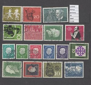 STAMPS LOT GERMANY USED (L14546) - Italia - STAMPS LOT GERMANY USED (L14546) - Italia