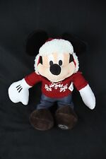 Walt Disney WINTER CHRISTMAS MICKEY MOUSE IN SWEATER & HAT A-8