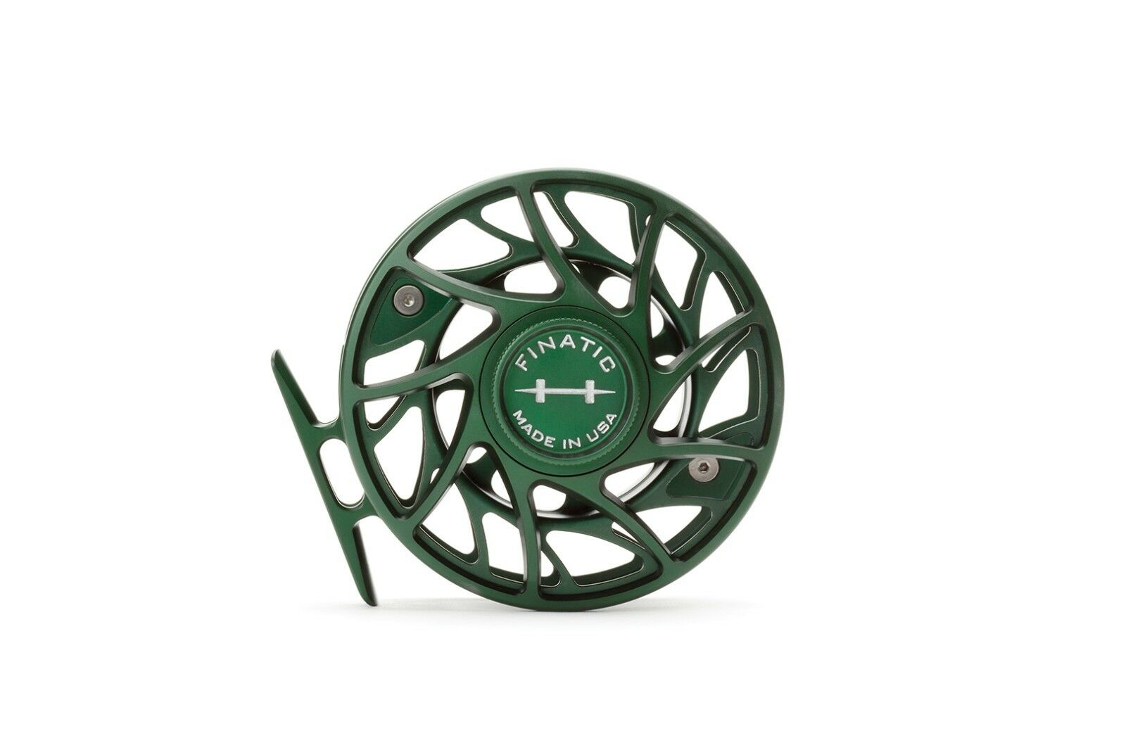 Hatch Green Finatic 4 Plus Gen 2 Fly Reel Large Arbor - Streams of Dreams Fly