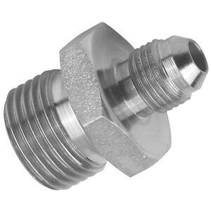 BSPP Mâle 60 ° Cone X JIC Pivotante Femelle 37 ° cône JIC hydraulique adaptateur.