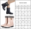Details about  /Womens Waterproof Anti Slip Rubber Rain Boots Winter Warm Booties Shoes Size US