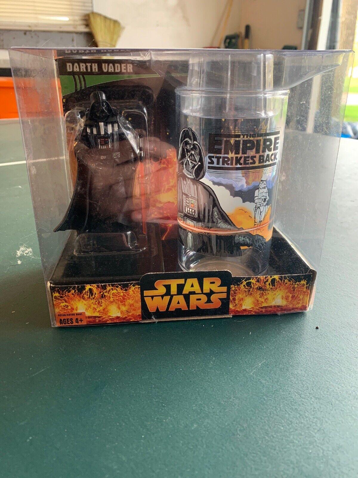Estrella Wars El Imperio Contraataca objetivo exclusivo de vidrio de Darth Vader Collector's