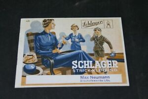 Age-Print-Advertising-Catalog-Pop-Songs-Knitted-Clothing-Max-Neumann-Vintage