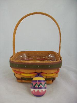 Longaberger 1998 Easter Basket Tie-On