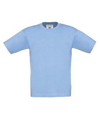 B&C Kinder Exact 150 T-Shirt Kids verschiedene Größen und Farben