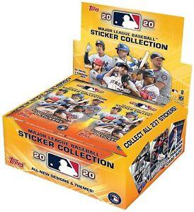 2020-Topps-MLB-Baseball-Sticker-Collection-box