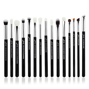 UK-15X-Eye-shadow-Blending-Makeup-Brushes-Set-Eyeliner-Lip-Stippling-Brush