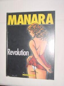 Manara   Revolution / Für Erwachsene Erotik Comic-  OVP Alte Original Auflage