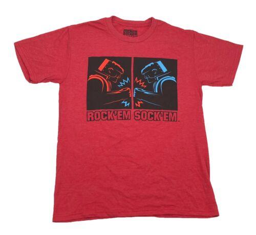 Rock/'Em Sock/'Em Robots Vintage Nostalgia Men/'s T Shirt S-2XL