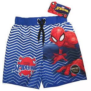 685222f976eb1 Marvel Spider-Man Swim Trunks - Little Boys Size 4/5 Spiderman ...